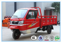 China big brand Dayang factory advertising tricycle cabin tricycle motorized tricycle in india