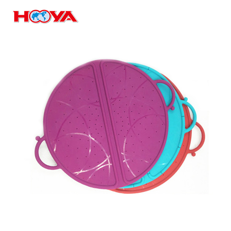 Good Quality Multi-Function Kitchen Tools Spill Stopper Lid Cover Silicone Spill-proof Pot Lid
