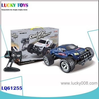 4wd rc truck 2.4G Radio Control Toys Monster metal high speed Off-road car kid vehicle toy