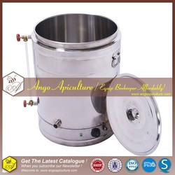 electric beekeeping heating honey tank with 304s for sales