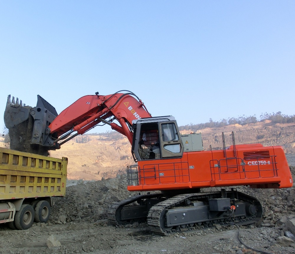 CED750-8 electrical excavator