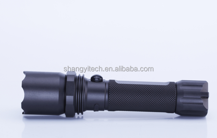 6000K Led Long Beam Led Rechargeable Flashlight High Power C7 Long Throw Led Flashlight