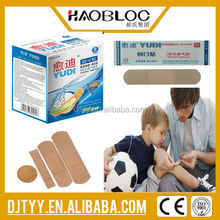 Good Products! Bule Elastic Fabric Band-Aid with Detective Metal Pad