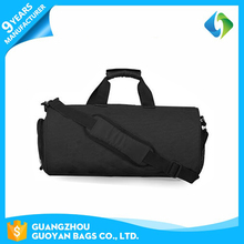 Multi use waterproof polyester travel bag yoga with shoe compartment