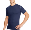 Bulk Blank Short-Sleeve Muscle Fit Men's Compression T Shirt