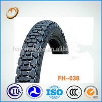 tyre tube and four wheel motorcycle tire price in the philippines 375-19 motocross 6PR motorcycle tyre