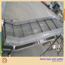 Competitive price stainless steel woven wire mesh ss conveyor mesh belt