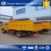 2017 Dongfeng dump truck 6ton diesel engine 4x4 mini dump truck for sale