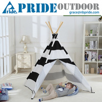 Kids Play Tent House Teepee Indian Indoor Outdoor Teepee Kids Custom Camping Frame Tent