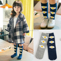 HW113 Children's socks wholesale cotton fried egg poached cotton Socks