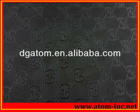 Textured rubber sheet for shoes