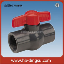 Free Sample China Pipe Fittings Pvc Ball Valve Din Rising Stem Gate Valve Pvc Ball Valve
