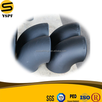 high quality and factory price sa234 wpb carbon steel ms elbow B16.9 standard pipe elbow dimensions
