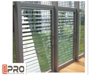 Sound insulation fixed aluminum louver windows