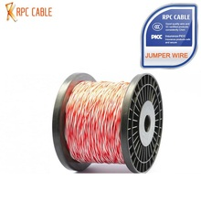 copper pvc jacket telephone cable 3 pair telephone cable