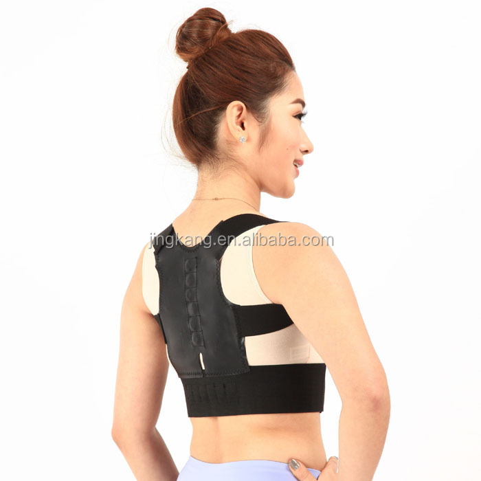 2015 Hot selling Magnetic Orthopedic Back posture support brace, High Quality Posture Corrector