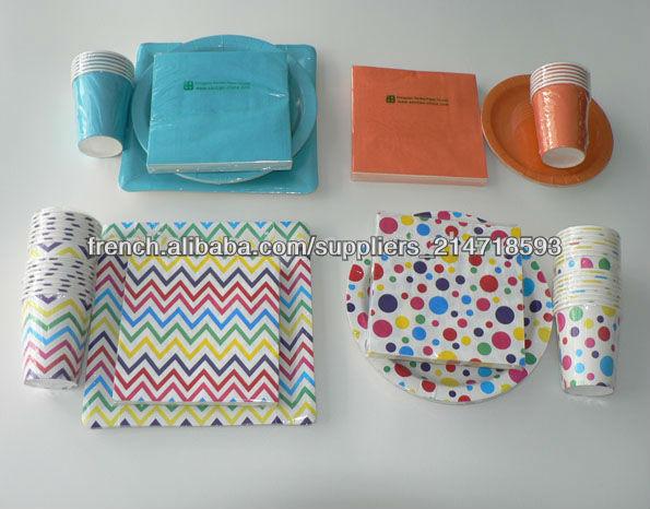 Personnalis imprim de haute qualit pr pli serviette en papier serviettes papier for Serviette de toilette haute qualite