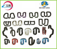 Rail clip e2055 for railway fastening system