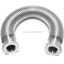 flexible stainless steel bellows hose KF16- 20 inches long for vacuum use
