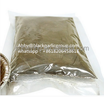 Chinese organic fermented black garalic powder