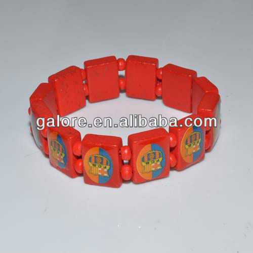 fashion italy custome design flag and logo with bracelet cheap price