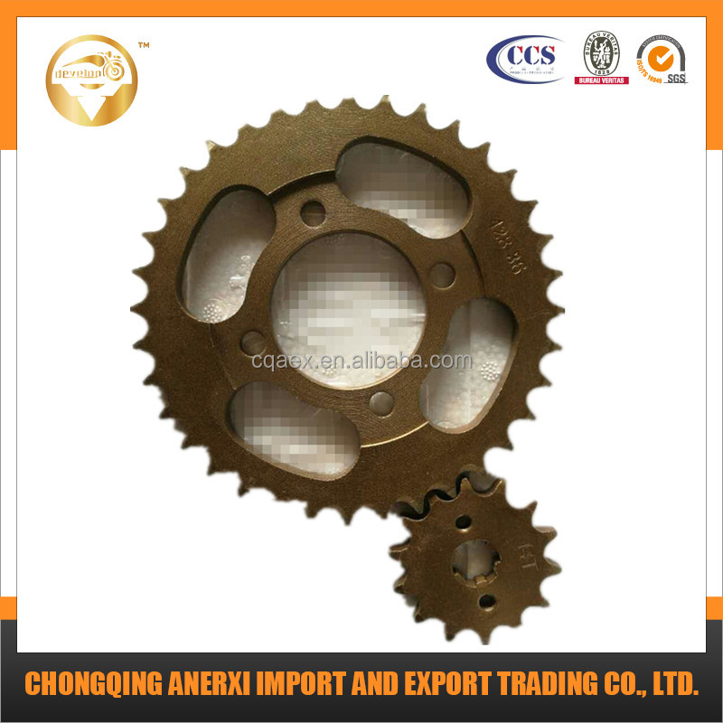 428 Motorcycle Sprocket Front sprocket 14T Rear Sprocket 36T