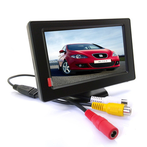 HD 4.3 Inch TFT LCD Car Stand Alone Rearview Monitor with Rear View Camera