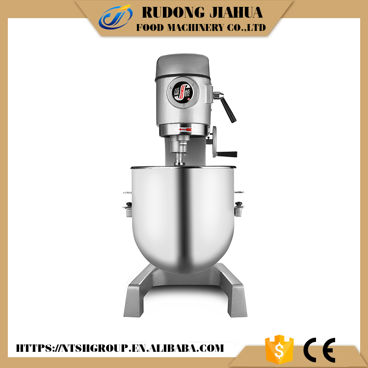 Industrial bakery planetary commercial cake mixer
