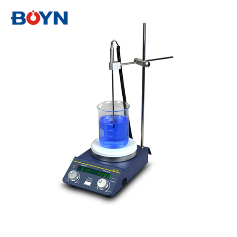 TP-350 PID for temperature control laboratory Digital Magnetic mini hot plate with DC brushless motor