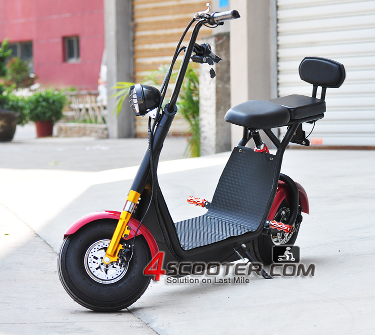 New 500w/800w <strong>city</strong> coco electric scooter EEC road legal