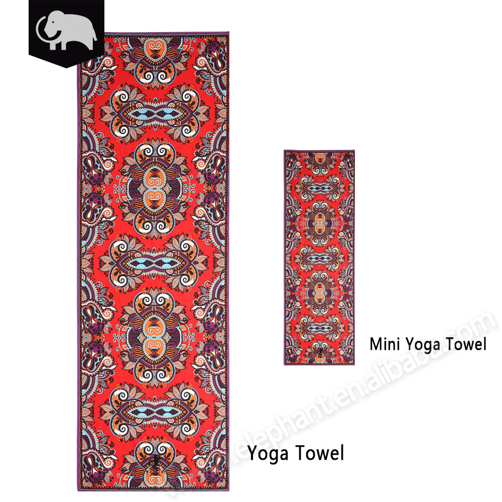 Guangdong textiles import and export recyclable fitness gym towel for yoga