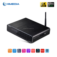 Aluminum housing bluetooth 4.0 for HiMedia Q10 PRO Quad core Android TV Box Kodi 16.0 mini pc streaming box