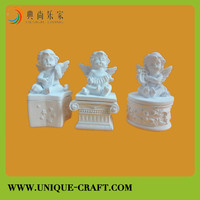 Figurine Product Type and Artificial Style cherub Resin Crafts