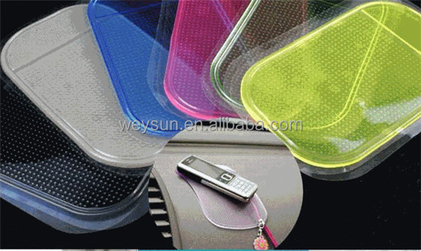 Automobile Interior Accessories Anti Slip Car Sticky Anti-Slip Mat for Mobile Phone/mp3/mp4/GPS/Pad/car doll