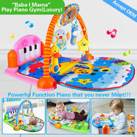 HX9105 4 games in 3 modes,12 in 1 powerful function best baby activity gym