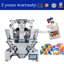 candy weighing machine for packaging machine