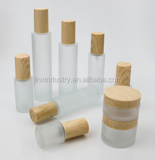 glass cosmetic jars for cosmetic packaging, solid perfume container
