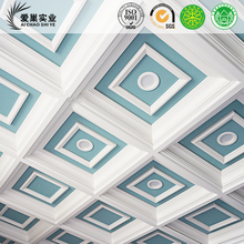waterproof technics wpc wood plastic composite wall ceiling for home decoration