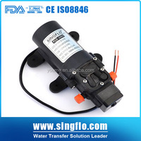 Singflo DC 12V dc mini water pump/agriculture battery sprayer pump for mist sprayer