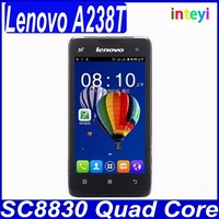 Wholesale Cheapest Original Lenovo Smartphone Original Lenovo A238T 4.0 inch Dual Sim Card Android GSM Mobile Phone in stock