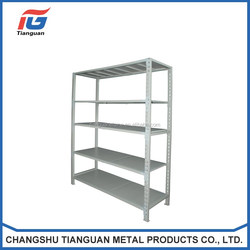Customized Good Quality warehouse shelf Stainless Steel Slotted Angle rack