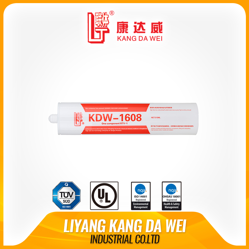 Thermal conductive anti-fungus silicone rubber adhesive sealant