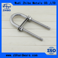 best rigging hardware eye bolt u-bolt with nut and plate u-bolt