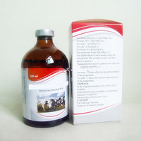 veterinary injectable antibiotic 100ml 5% 10% 20% oxytetracyclin injection