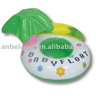 cute inflatable baby float boat seat