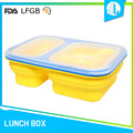 Silicone new design Lunch cheap packing a bento box