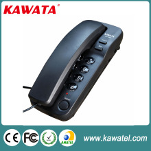 Wholesale redial function trimline wall mounted slim telephone