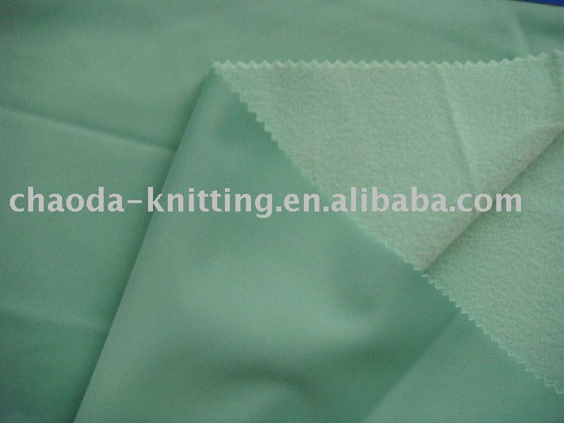 100%polyester brush fabric