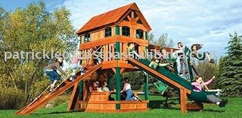 Carnival Clubhouse Design #9 Swing Sets