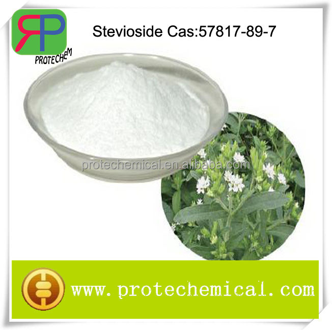Natural high sweetener steviol glycoside, sterioside powder cas: 57817-89-7